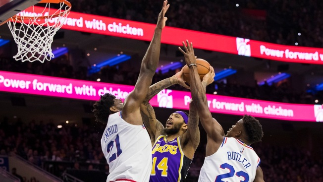 Kuzma Catches Fire Early But Sixers Light Up Lakers 143-120