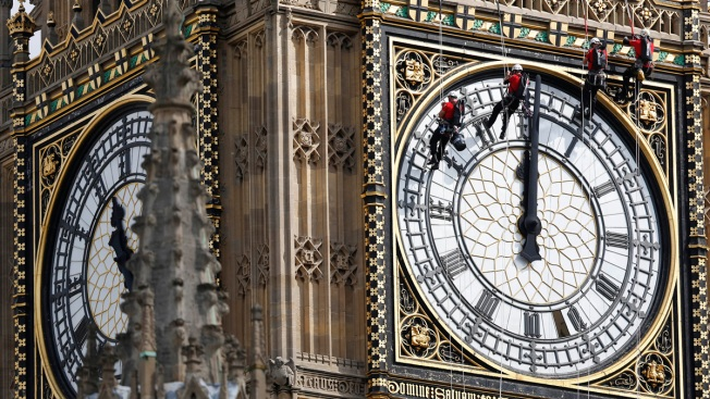 London's Big Ben to Fall Silent for 4 Years of Repairs