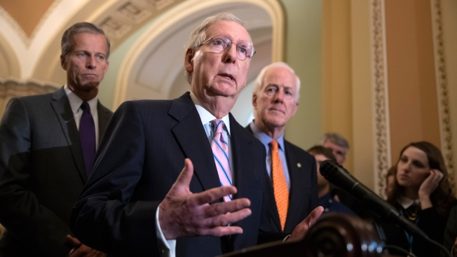 Senate Backs Bill to Avert Shutdown, Boost Military Spending
