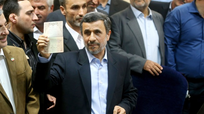 Iran stunned by Mahmoud Ahmadinejad's announcement he is running for president again