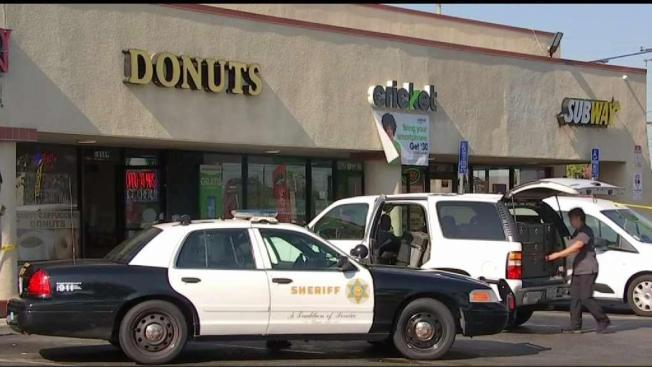 Man Takes on Robbers in Donut Shop Shootout