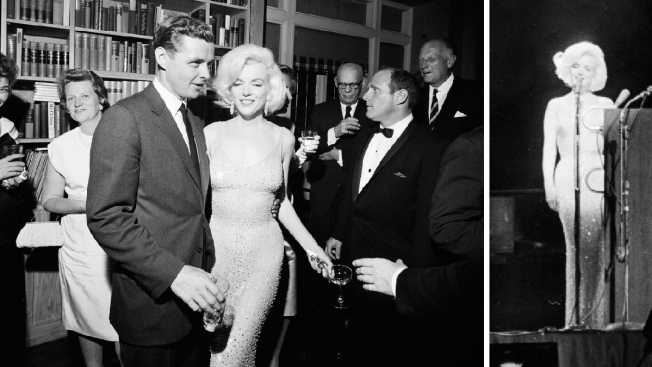 Dress Marilyn Monroe Wore for John F. Kennedy Birthday Song Sells for $4.8 Million