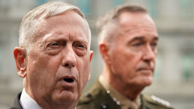Mattis' Message: US Is Not Intimidated by North Korea