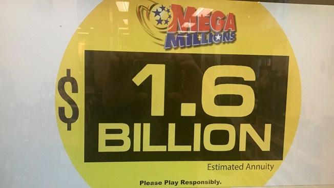 No Mega Millions Winner Jackpot Climbs To 1 6 Billion Nbc Southern California