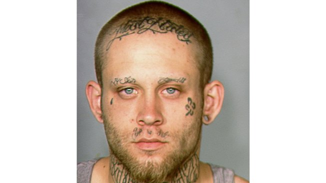 Vegas Judge Orders Swastika Face Tattoos Covered For Trial