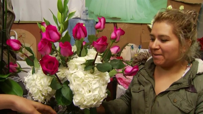 Mother's Day Celebrated With Bouquets at LA Flower District