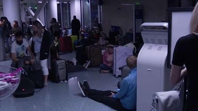 NBC4 I-Team Goes Inside LAX's Emergency Operation Center