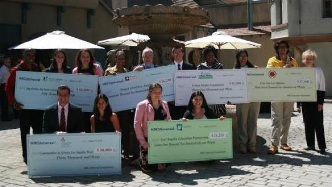 The NBCUniversal Foundation Awards $200,000 to Los Angeles Non-Profits