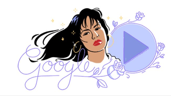 Google Honors Selena With a Doodle on Her First Album's Anniversary
