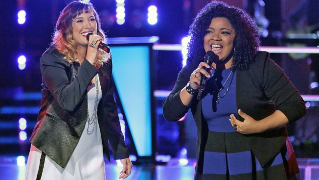 """The Voice"" Battle Rounds: Usher Uses Last Steal to Grab Cierra Mickens"