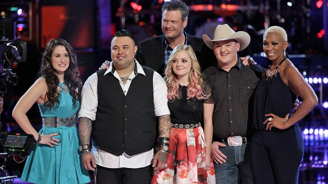 """""""The Voice"""" Playoffs: Blake Picks Sisaundra, Audra and Jake for His Finals-Bound Team"""