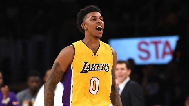 quality design 996db 4ed60 Ex-Laker Nick Young Arrested in Hollywood - NBC Southern ...