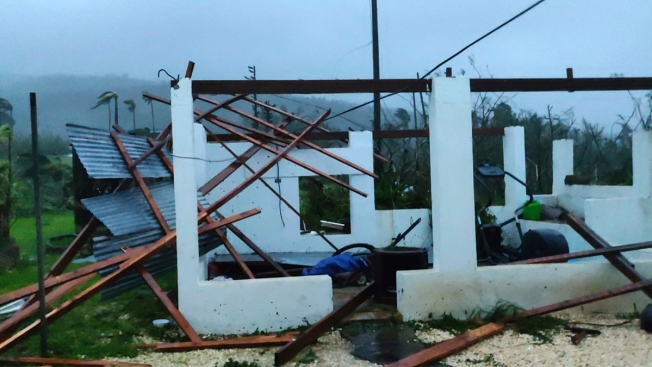 Typhoon Crumbles Homes, Kills 1 in Northern Mariana Islands