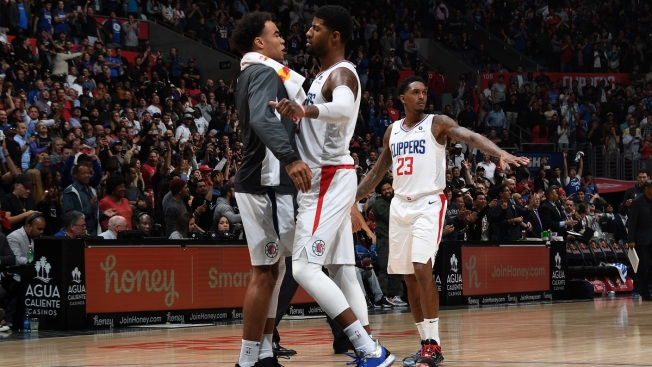 Paul George Hits Go-Ahead 3, Clippers Edge Thunder 90-88