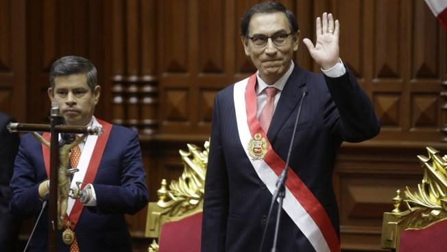 New Peru President Sworn After Kuczynski Resignation