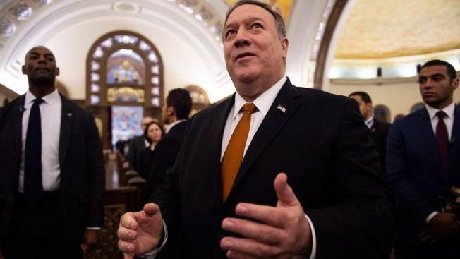 Pompeo Takes US Anti-Iran Message to Gulf Arab States