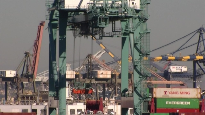 Drivers and Warehouse Workers Go on Strike at Long Beach, LA Ports