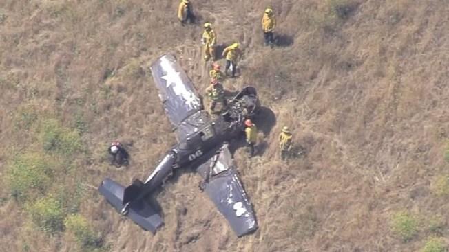 One Dead in Plane Crash in Porter Ranch Area