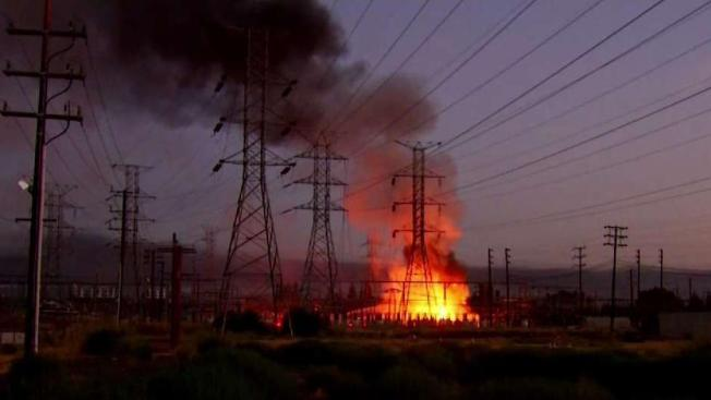 Power Fully Restored After Heavy Fire Explosions At Ladwp Power