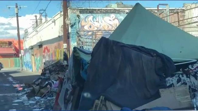 Rotting Trash Fuels Health Concerns in Los Angeles