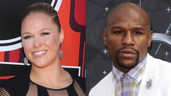 UFC Champ Ronda Rousey Jabs at Floyd Mayweather on 2015 ESPYs Red Carpet