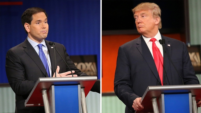 Christie's 5-minute fiery battle with Rubio on Republican debate stage