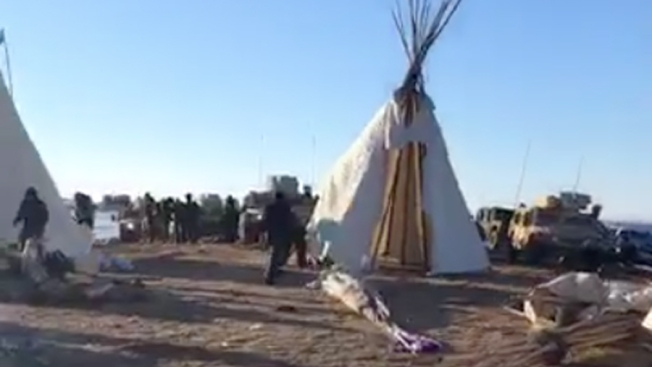 Tribal Chairman Decries Dakota Access Protesters' New Camp