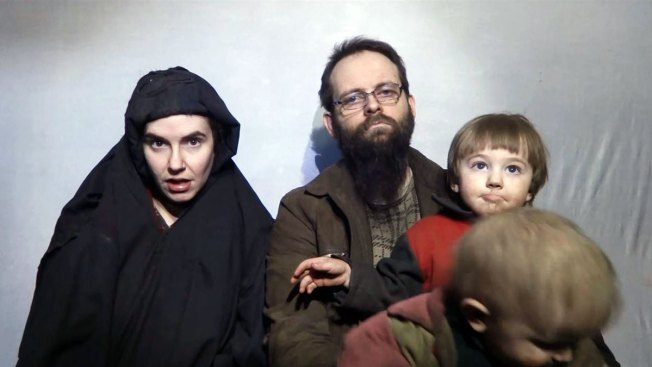 Taliban Releases Propaganda Video Showing Kidnapped U.S.-Canadian Couple