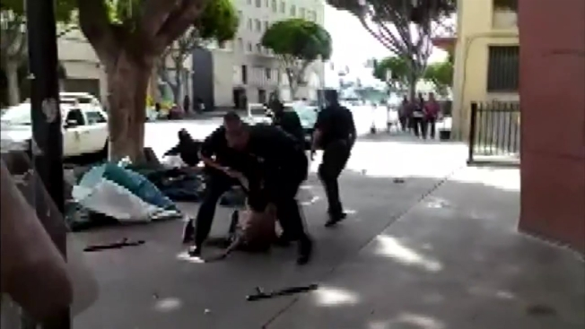 No Charges for LAPD Officers in Shooting of Homeless Man 'Africa' on Skid Row