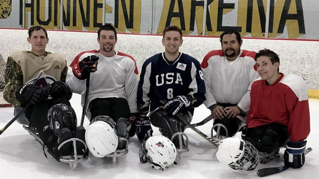 After Losing Both Legs, Soldier From Viral Photo Recovers With Sled Hockey
