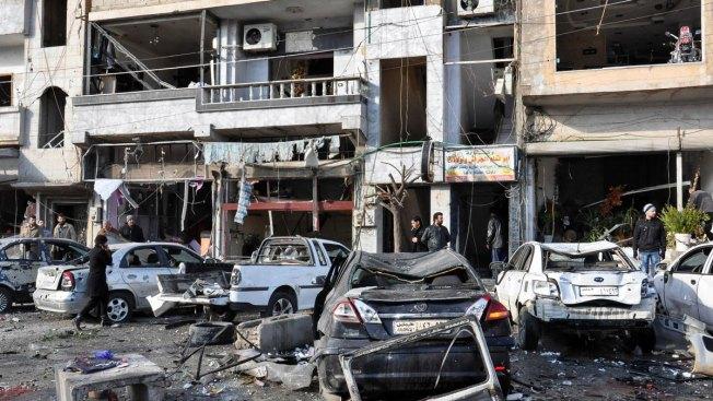 45 Killed, 110 Wounded in Blasts Near Sayeda Zeinab Shrine in Syria