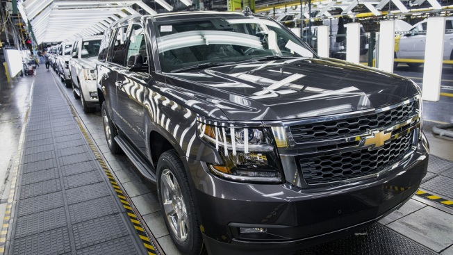 GM Recalling More Than 600,000 Trucks and SUVs