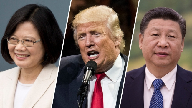 Trump Speaks With Taiwan's President, Risking China Tensions