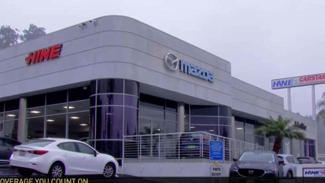 Mazda Dealership San Diego >> 8 Cars Stolen From John Hine Mazda in Mission Valley - NBC Southern California