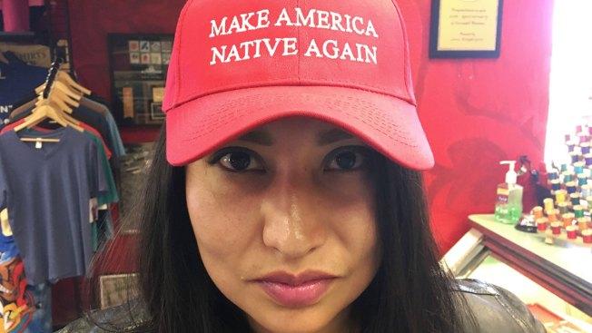 Trump's 'Make America Great Again' Target of Minority Satire