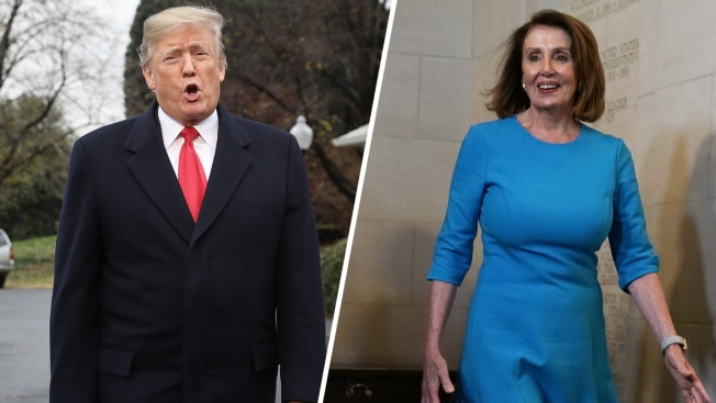 Trump-Pelosi Shutdown Showdown Marks First Battle of New Era