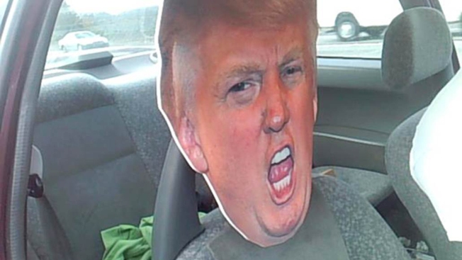Taking Donald Trump for a Ride in Carpool Lane Cost Driver $136