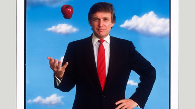 Smithsonian Set to Hang 1989 Portrait of Apple-Tossing Trump at Nat'l Portrait Gallery