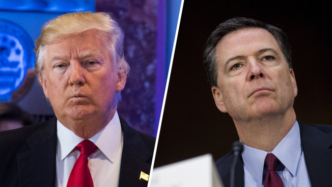 FBI's Comey Told Trump About Russia Dossier After Intel Briefing