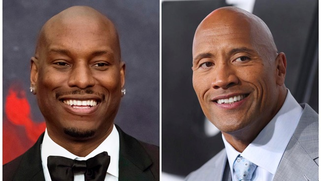 Tyrese Blasts The Rock, Cries Over Child Custody Dispute