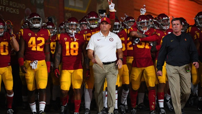 detailed pictures a4a7a dd637 At Scandal-Torn USC, Can Integrity Save Helton? - NBC ...