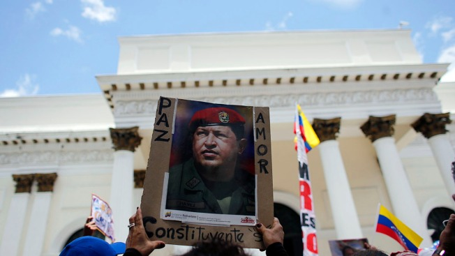 All-Powerful Venezuelan Assembly Opens Amid Protests