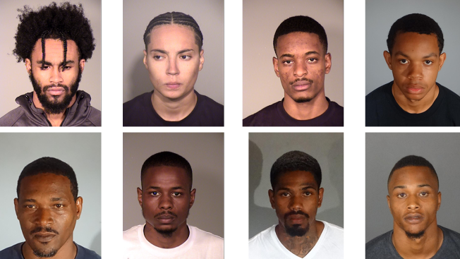 Eight People Arrested in Residential Burglaries Across Ventura, LA Counties