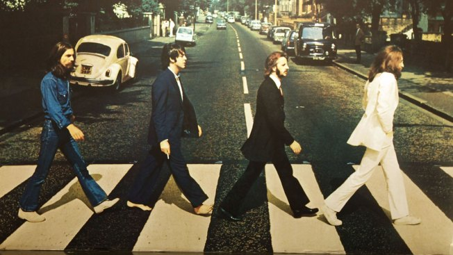 See It: Paul McCartney Recreates Iconic Abbey Road Walk 49 Years Later