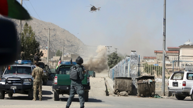 Taliban Fires Rockets Toward Afghan Presidential Palace