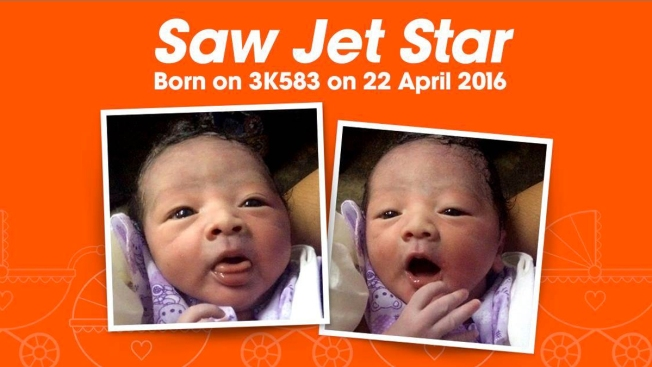 Baby Born on Jetstar Asia Flight Is Named After Airline