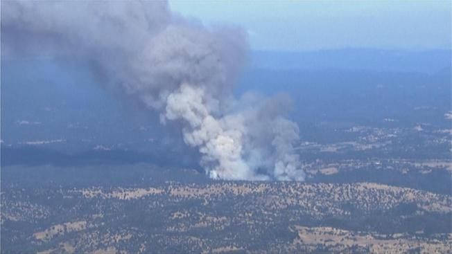 Northern California Wildfire Forces Evacuations in Yosemite Area