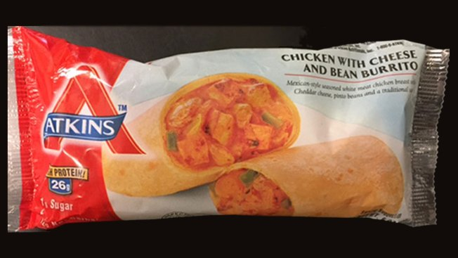 Recall: Chicken With Cheese Burritos, Due to Undeclared Allergens