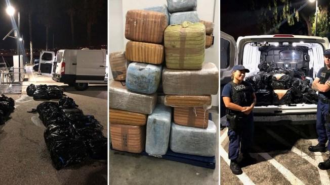 $1 Million Worth of Pot Found Floating Off Catalina Island Seized