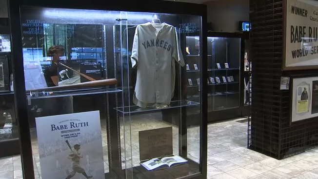 bbf4a00ee70 Babe Ruth Road Jersey Sells for $5.6M, Breaks Record - NBC Southern ...